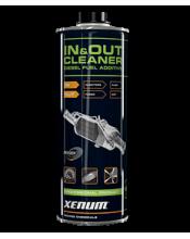 Xenum IN & OUT CLEANER  супер очиститель фильтра DPF,EGR и турбины с изменяемой геометрией 1.5л