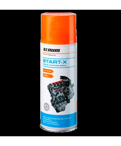 Xenum start-x аэрозоль для пуска двигателя при плохих свечах или аккумулятора, 400мл