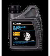 X-BRAKE DOT4 Синтетическая тормозная жидкость, 500ml