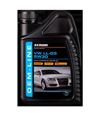 Xenum OEM-LINE VW LL-03 5w30 синтетическое моторное масло для группы VAG, 1л