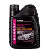 Xenum NIPPON ENERGY 0W20 синтетическое энергосберегающее моторное масло, 1л
