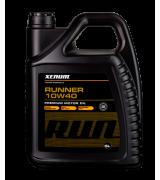 Xenum Runner 10W40 синтетическое моторное масло для авто с пробегом более чем 120000км, 5л