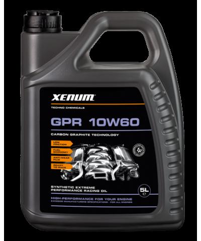 Xenum GPR 10w60 синтетическое моторное масло с карбон-графитом, 5л