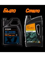 Xenum X1 5w40 синтетическое моторное масло с эстеровой технологией, 5л