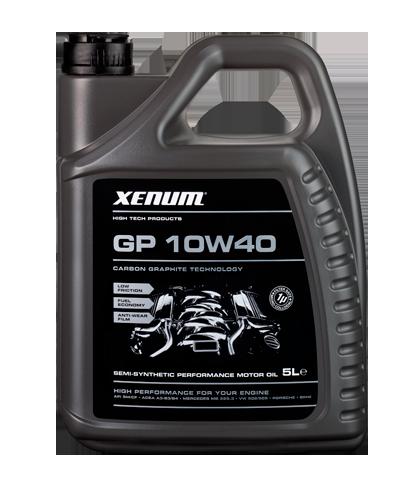 Xenum GP 10W40 полусинтетическое моторное масло с графитом, 5л